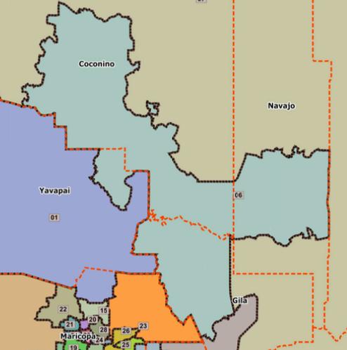 Map Of Arizona Legislative Districts.Ld 6 Is Key To Changing Arizona Coconino County Democratic Party