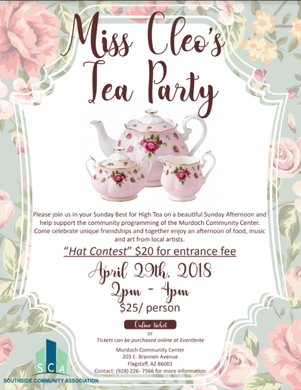 miss cleo u2019s tea party fundraiser for southside community